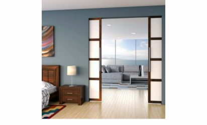 Brio Single Run 100, sliding door hardware